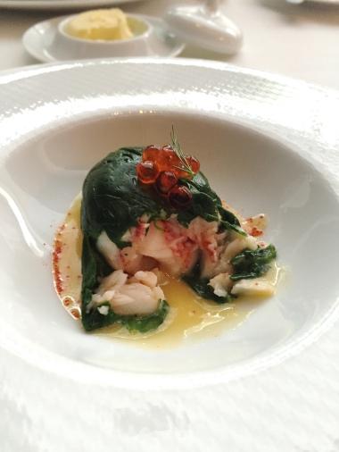 Inside the Lobster Rouelle